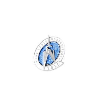 One World Observatory 2015 Pin L