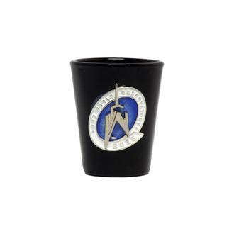 One World Observatory Black Shot w/ Enamel Logo