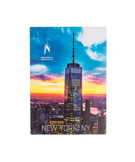 One World Observatory Decal Night