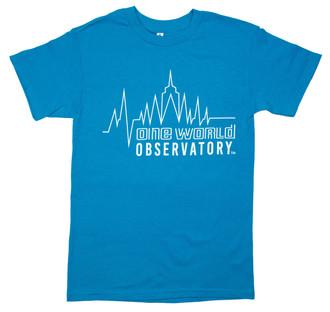 One World Observatory NYC Heartbeat Tee
