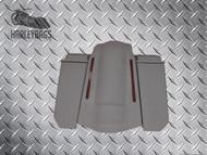 """5"""" Stretched Saddlebags 6x9 Speaker Lids & LED Fender Uncut"""