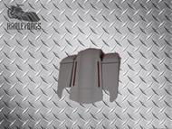"""5"""" Stretched Saddlebags, Lids & LED Rear Fender"""