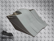"""Harley Davidson 8"""" Extended Stretched Saddlebags & Rear Fender - Bagger"""