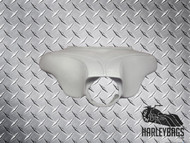 Custom Raked & Stretched Headlight Fairing 'Dueces' Harley Davidson