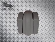 """Harley 5"""" Stretched Saddlebags 6x9 Speaker Lids & Fender Uncut"""
