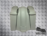 "Harley Davidson 6"" Stretched Saddlebag Fender Kit - 6""x 9"" Speaker Lids - Bagger"