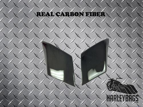Harley Davidson CARBON FIBER Stretched Side Cover Panels