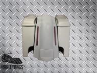 """Harley Touring Stretched Saddlebags & Fender w/LED Brake Lights - 6"""" x 9"""" Lids"""