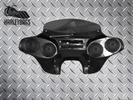 Yamaha Road Star 1600 / 1700 Batwing Fairing - Quad (4) Speakers + CD/Radio