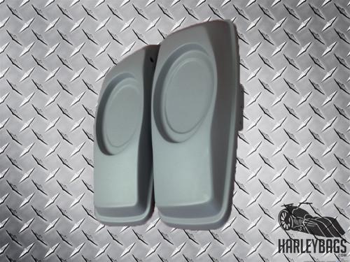 "2014 - 2015 Saddlebag 6"" x 9"" Speaker Lids for Harley Davidson Bagger"