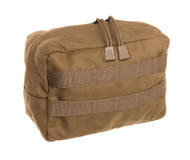 TAC SHIELD Horizontal GP Utility Molle Pouch (Coyote)