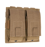 TAC SHIELD Double Universal Rifle Mag Molle Pouch (Coyote)