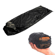Snugpak Jungle Bag - Sleeping Bag/Blanket (Black)