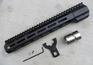 "Mega Arms AR-15 Wedge Lock Rifle Length M-Lok Hand Guard (WLH-450-ML) - 12"""