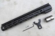 "Mega Arms AR-15 Wedge Lock Mega Extended Length M-Lok Hand Guard (WLH-650-ML) - 16"""
