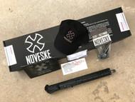 "Noveske Gen III 12.5"" Crusader Complete Custom Upper - NSR-11 (KeyMod), Raptor CH, No Muzzle Device (Thread Protector) - 5.56mm"