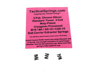 Tactical Springs AR15/M4/M16 Enhanced 4-Coil Bolt Extractor CS Spring 3-Pak  (25435)
