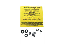 Tactical Springs AR15/M4/M16/AR-10 5-Coil XP Bolt Extractor CS Spring Upgrade Triple Kit (26203)