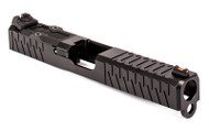ZEV Z17 Enhanced SOCOM Slide Gen 3 Glock 17 w/ RMR Cutout and Adapter Plate - Black