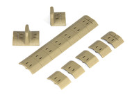 Noveske NSR Polymer Panel Set (FDE)