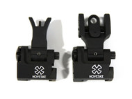 Noveske (Troy) Folding BattleSights Front & Rear Set - Black
