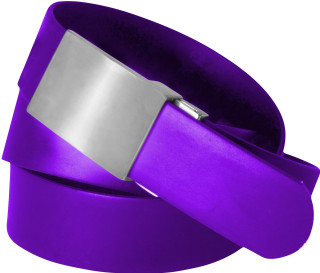 Plain Buckle-Purple Solid