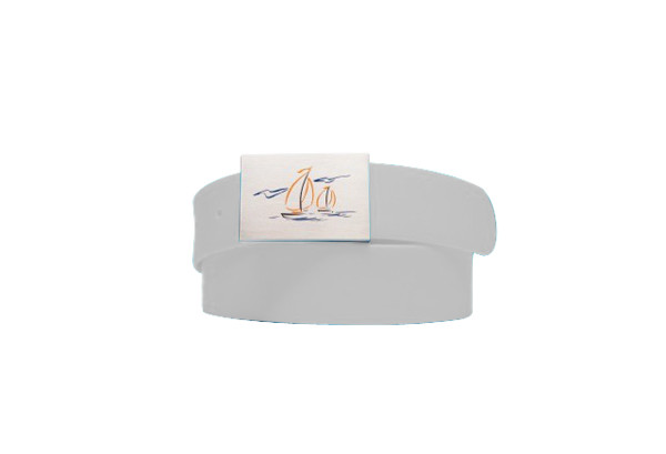 Sailboat Logo- Antique White