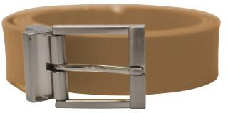Solid Belt prong Buckle Mocha