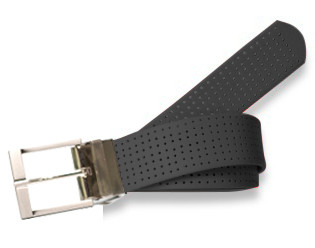 Prong Style- Coal Black Perforated