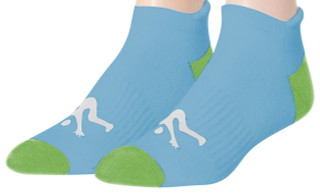 Ankle Sport Socks Lt. Blue