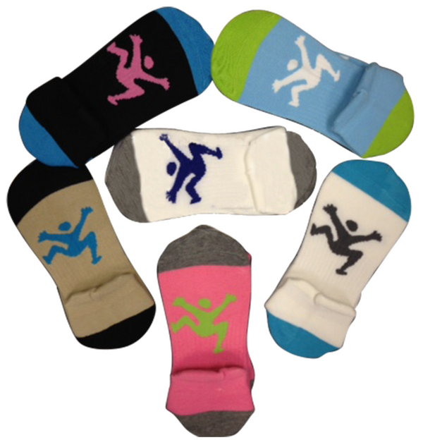 6 pack Sport Sock- Assorted colors
