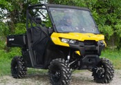 SuperATV '16+ Can Am Defender Vented Windshield