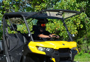 SuperATV 16+ Can Am Defender Flip Up Windshield