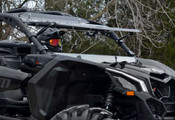 SuperATV '17+ Can Am Maverick X3 Flip Out Windshield