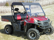 GCL '09+ Polaris Ranger Full Size Two Piece Vented Lexan Windshield