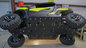 Trail Armor Can Am Maverick Trail and Can Am Maverick Trail DPS Full Skids with Integrated Slider Nerfs