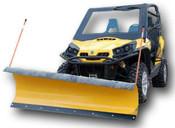 """Denali Pro Series 66"""" Plow Kit for John Deere Gator"""