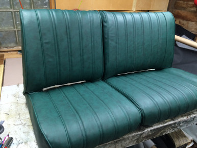 Jeep Commando 1972 1972 Bench 60 40 Seat Set In Green