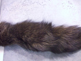 Dyed Brown Tudra fox tail