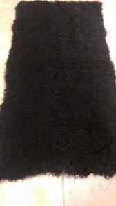 Dyed Black Kalgan Lamb Plate