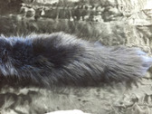 Dyed Navy Blue Fox Tail