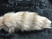 Dyed Beige Mutation Fox Tail