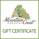 Mountain Crest Gardens Gift Certificate