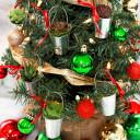 Christmas Creations Mini Succulent Ornaments
