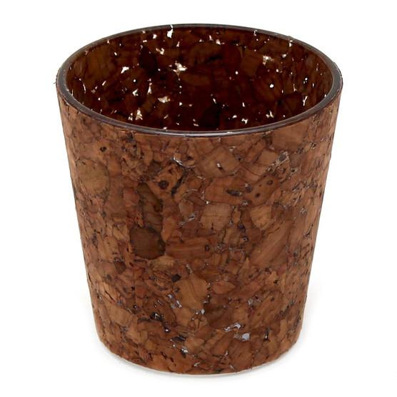 Cork Vase Brown