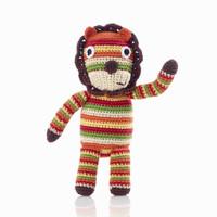 Pebbles - Lion Baby Rattle