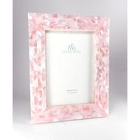 Pink Mother of Pearl Picture Frames