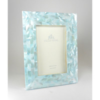 Blue Mother of Pearl Picture Frames
