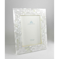 White Mother of Pearl Picture Frames