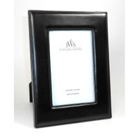 Black Leather Picture Frames